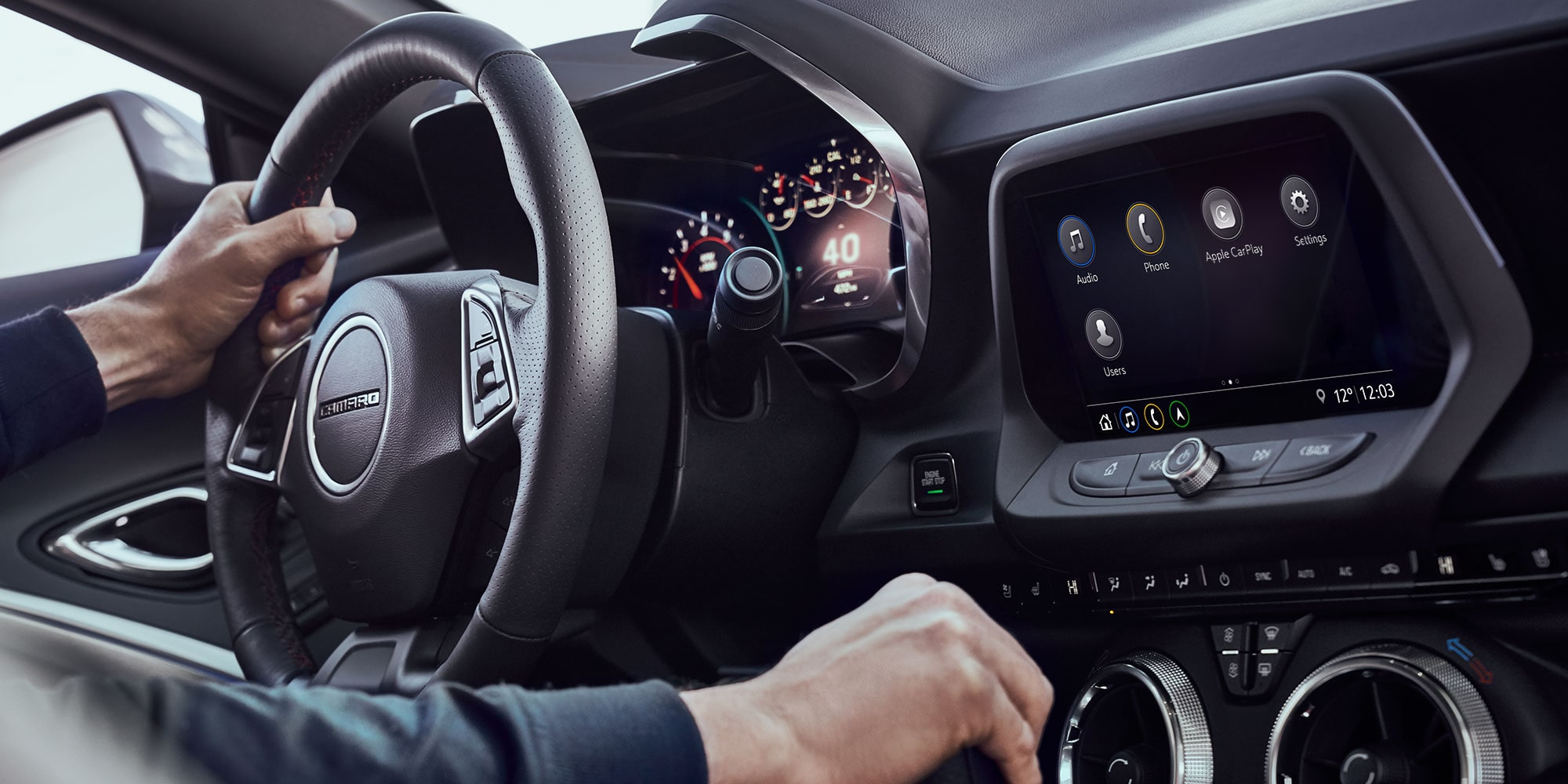 The Ingenious Camaro HVAC Dials Let Drivers Control Airflow With A Simple  Trim Ring Rotation.