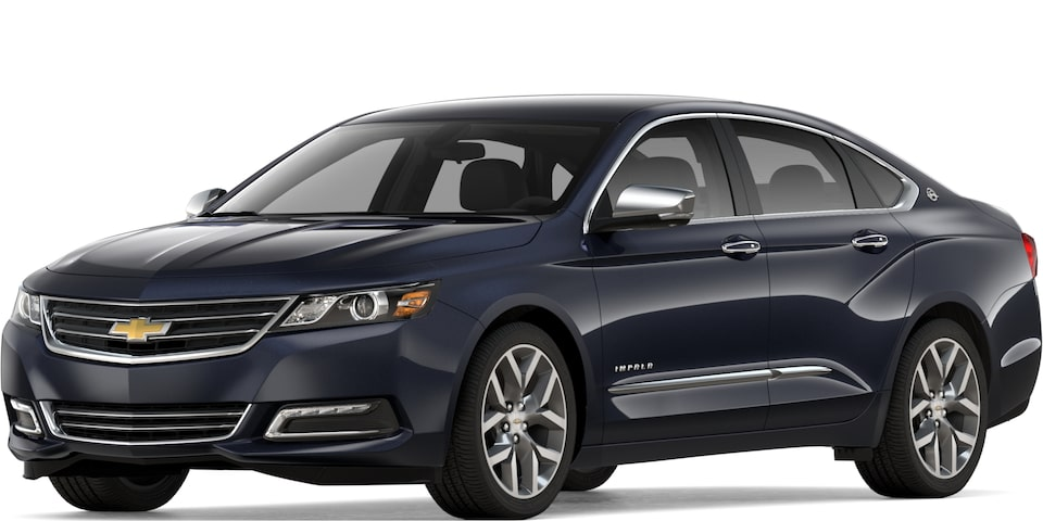2019 CHEVROLET IMPALA IN BLUE VELVET METALLIC