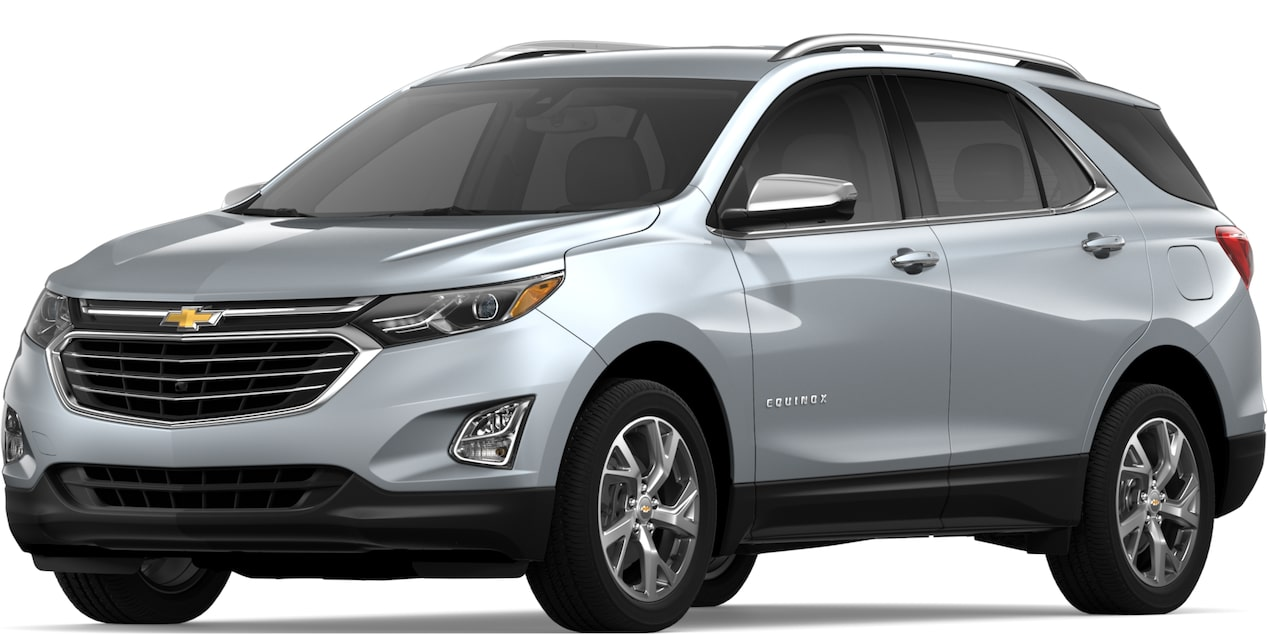 2019 Equinox in Silver Ice Metallic