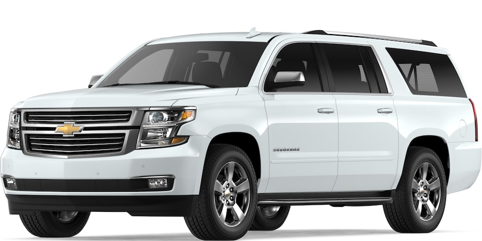 2019 Suburban in Summit White