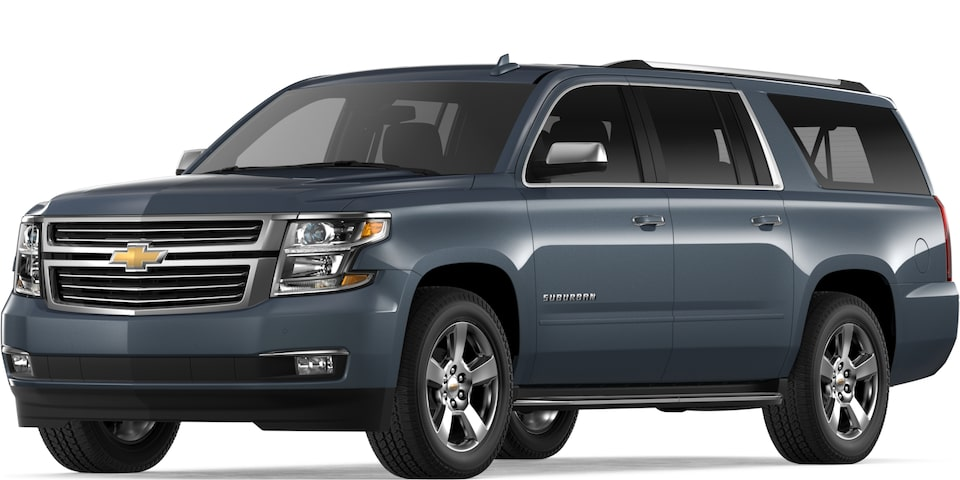 2019 Suburban in Shadow Gray Metallic