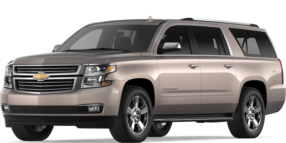 2019 Suburban in Pepperdust Metallic