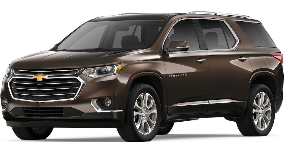 2019 Traverse in Sable Brown Metallic