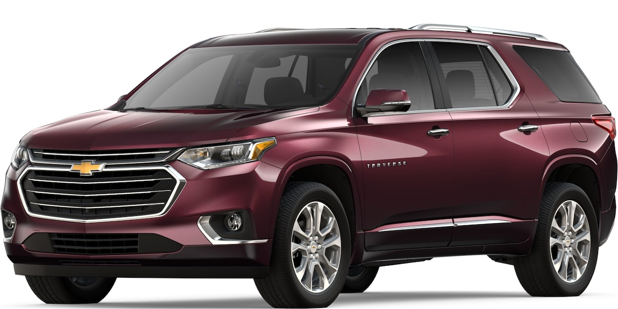 2019 Traverse in Black Currant Metallic