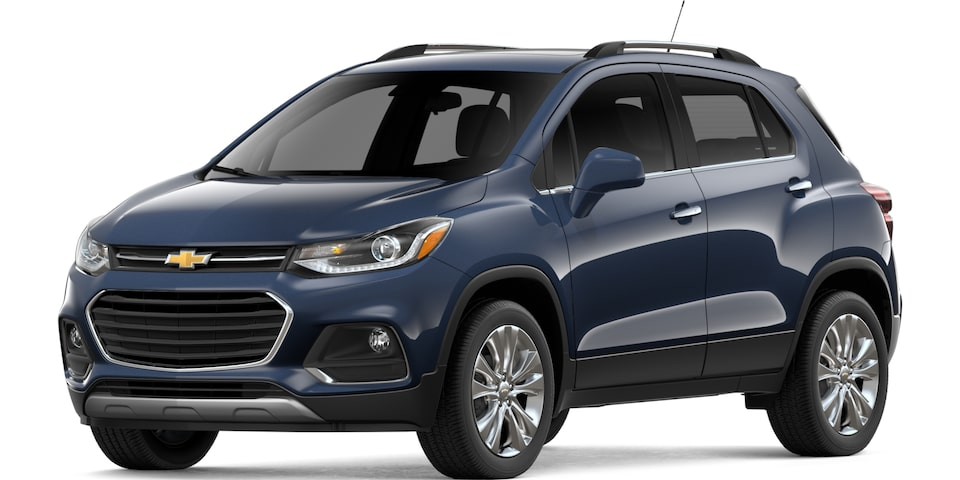 2019 Chevrolet Trax in Storm Blue Metallic
