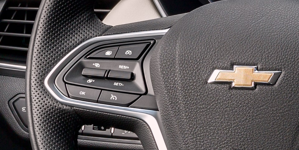 Captiva SUV Crossover Steering Wheel Controls