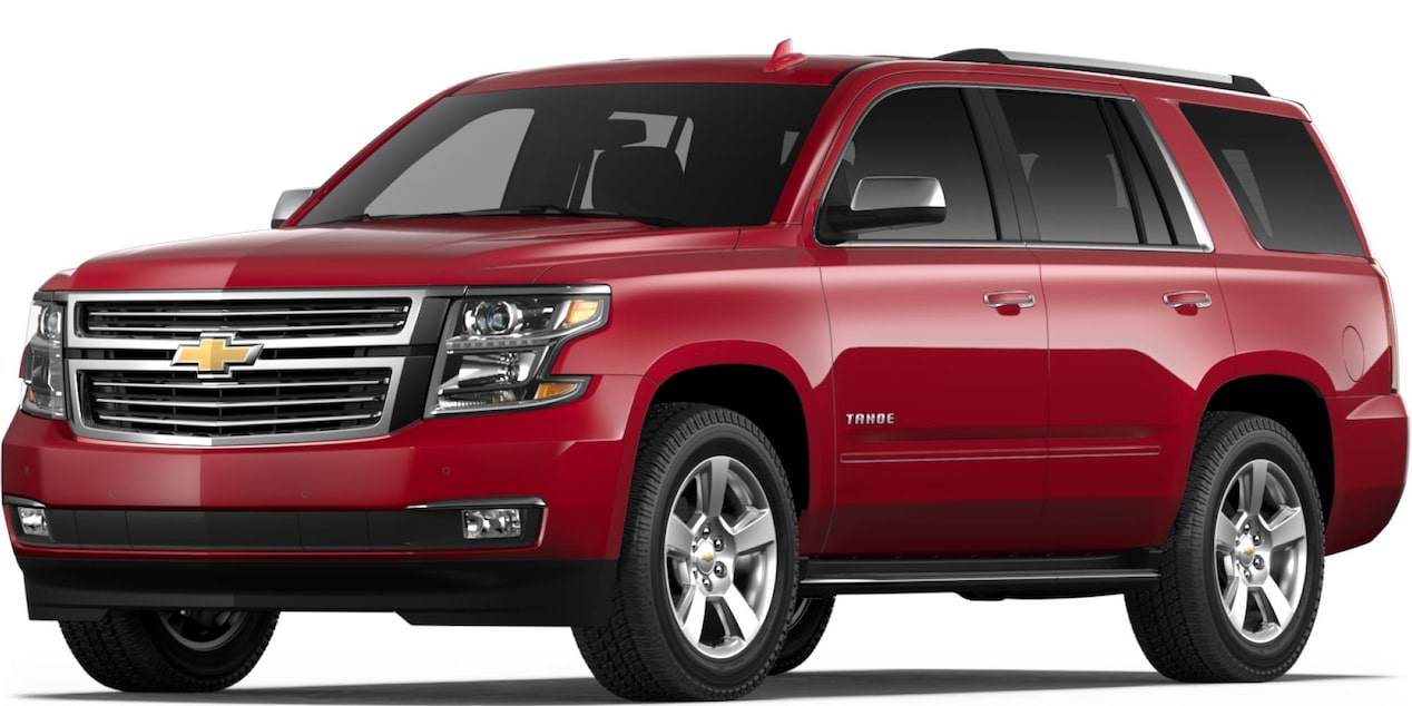 2019 Tahoe in Siren Red Tintcoat