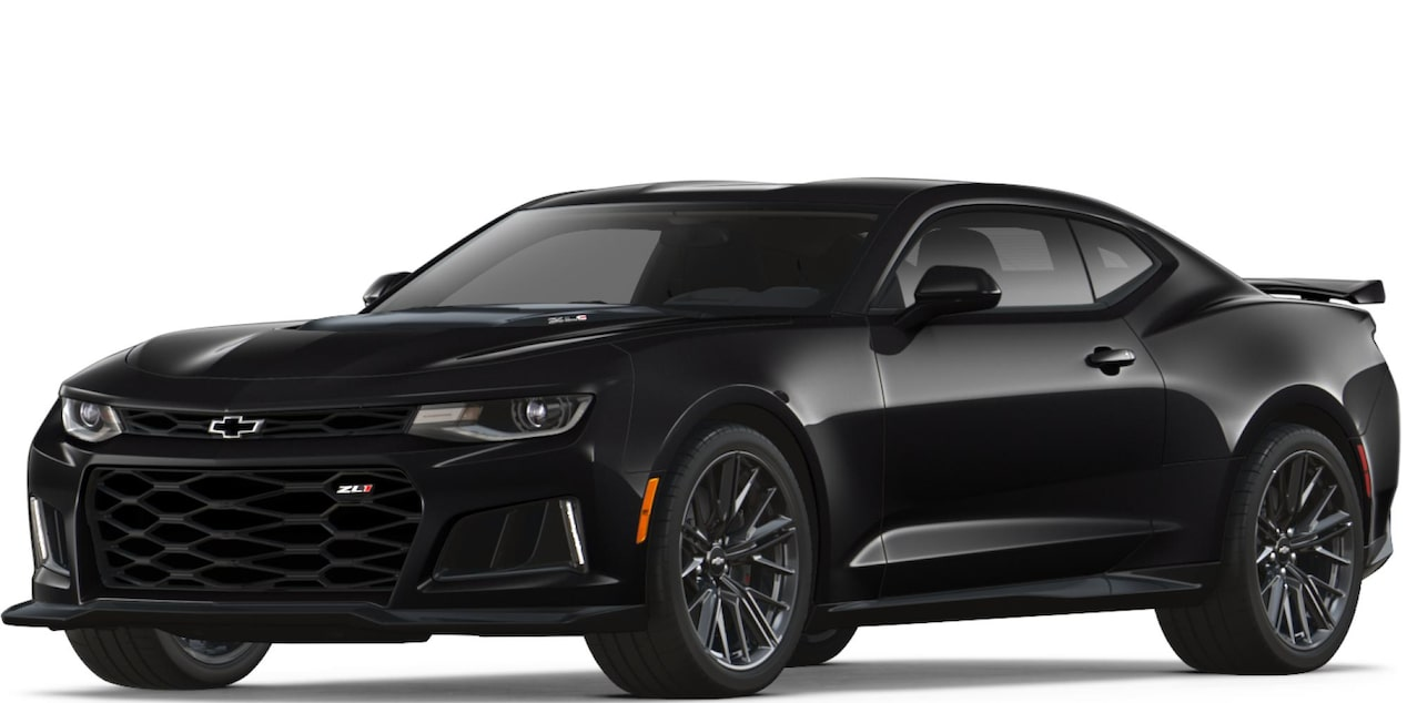 2018 Camaro ZL1 in Mosaic black metallic