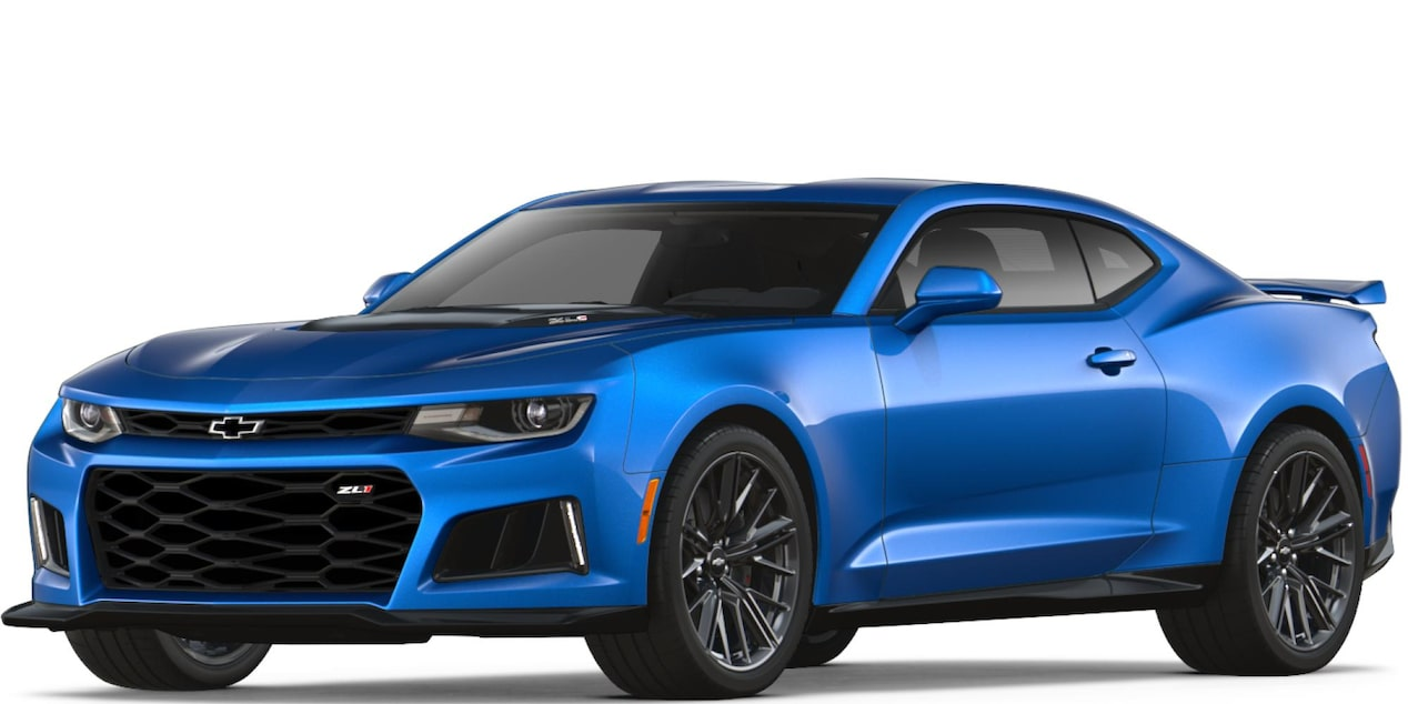 2018 Camaro ZL1  in Hyper Blue Metallic