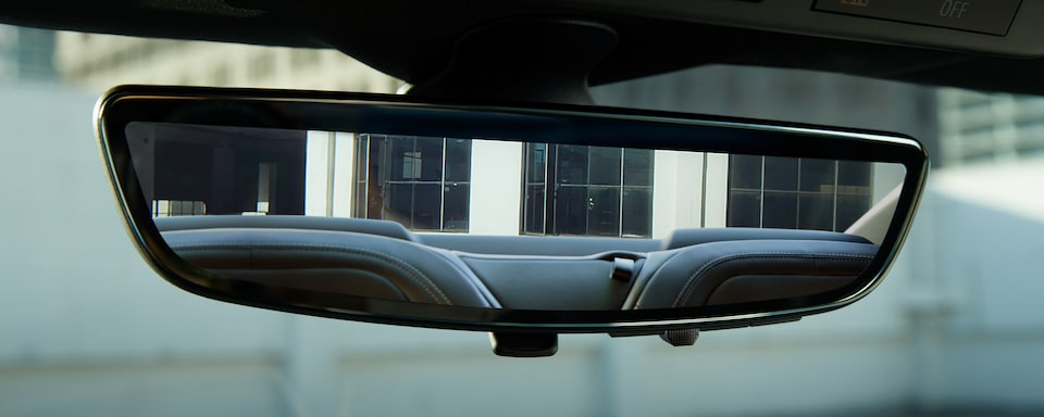 2019 Camaro: rear camera view mirror