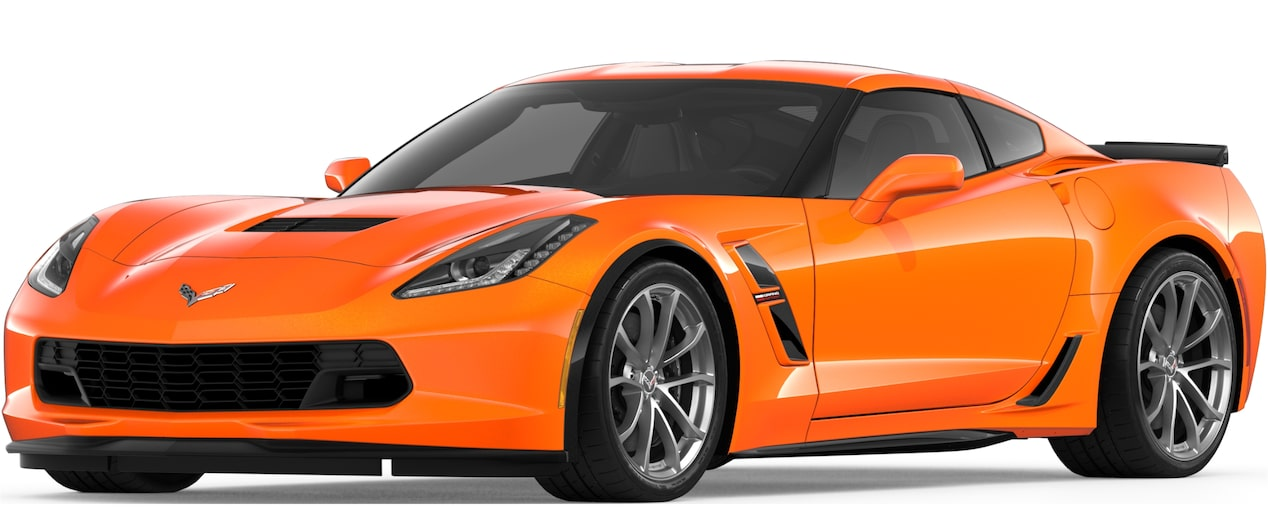 Corvette Grand Sport Coupe in Sebring Orange Tintcoat