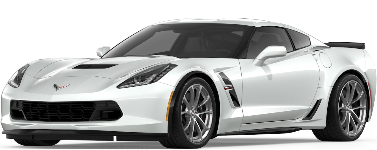 Corvette Grand Sport Coupe in Arctic White