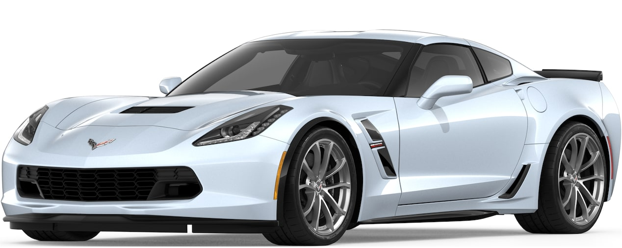 Corvette Grand Sport Coupe in Ceramic Matix Gray