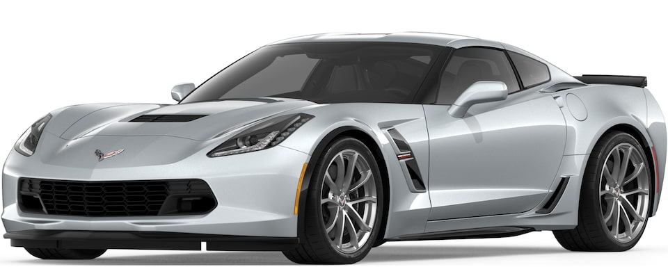 Corvette Grand Sport Coupe in Blade Silver Metallic