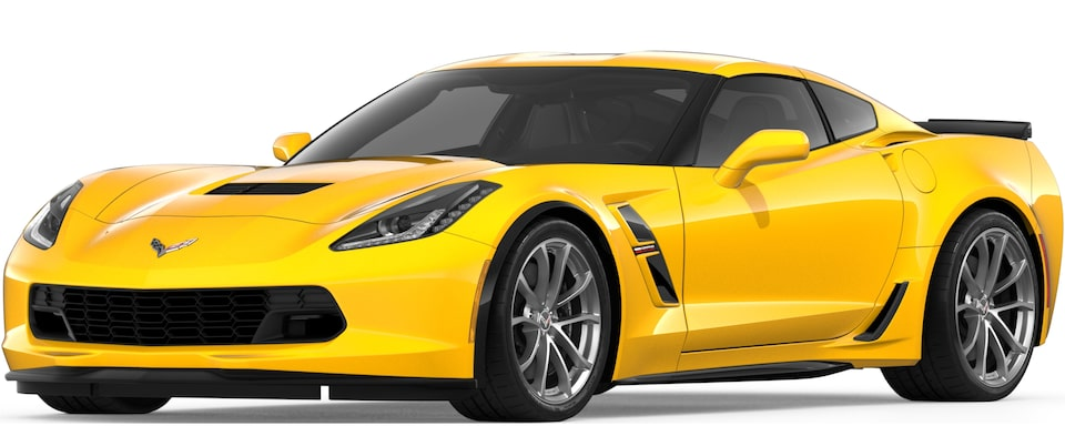 Corvette Grand Sport Coupe in Corvette Racing Yellow Tintcoat