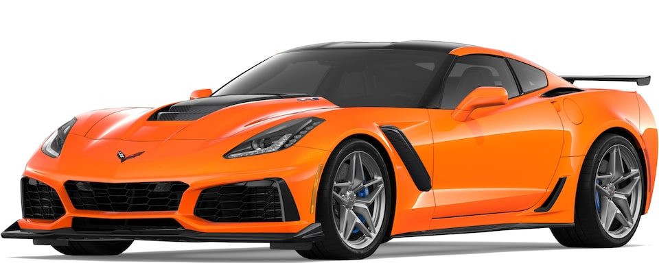 Corvette ZR1 in Sebring Orange Tintcoat
