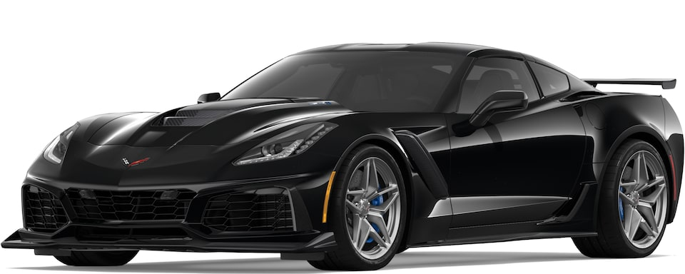 Covette ZR1 in Black