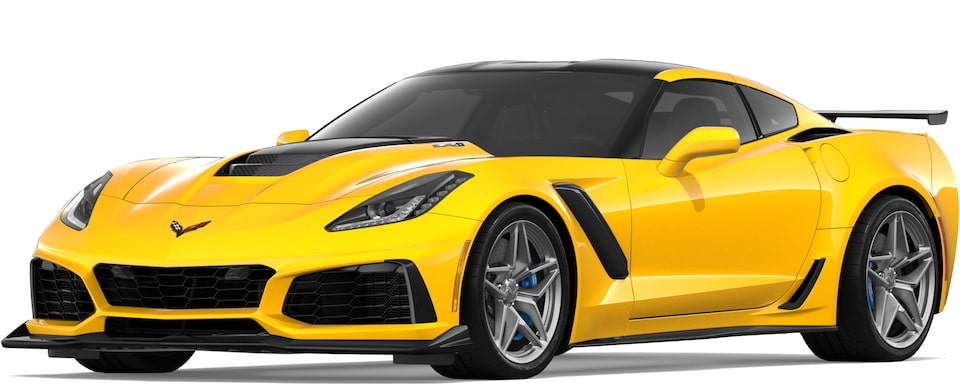 Corvette ZR1 in Corvette Racing Yellow Tintcoat