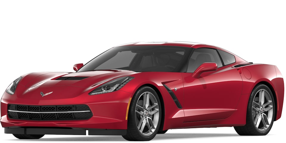Corvette Stingray Coupe in Long Beach red Metallic Tintcoat