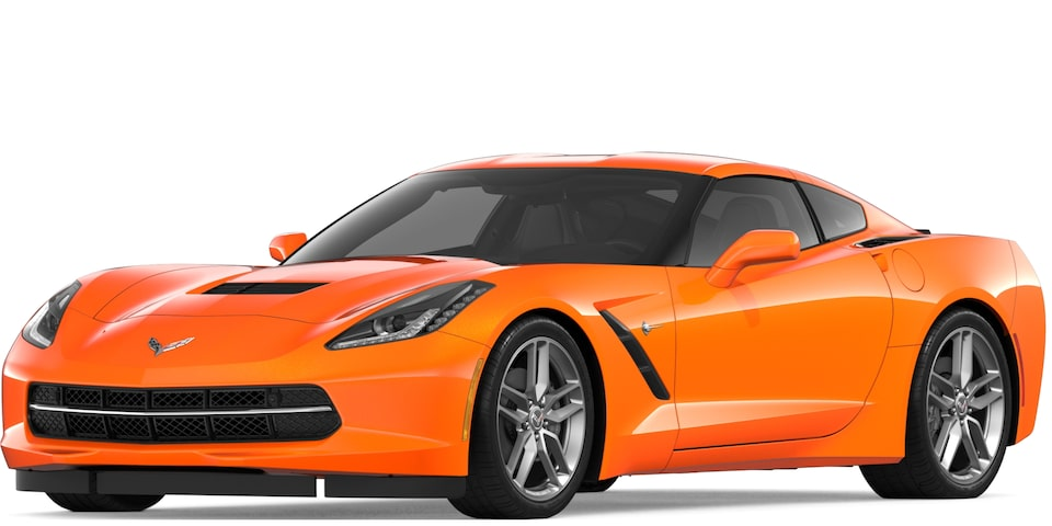 Corvette Stingray Coupe in Sebring Orange Tintcoat