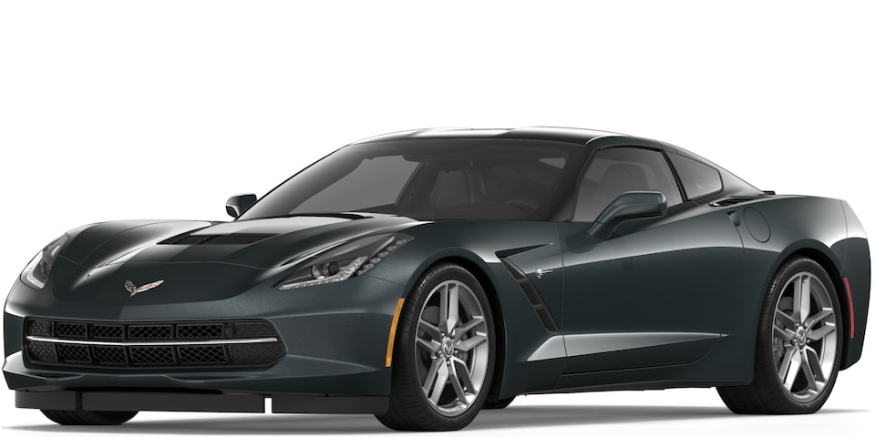 Covette Stingray Coupe in Watkins Glen Gray Metallic