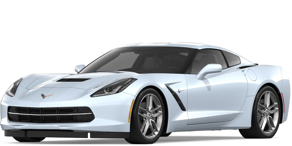 Corvette Stingray Coupe in Ceramic Matix Gray