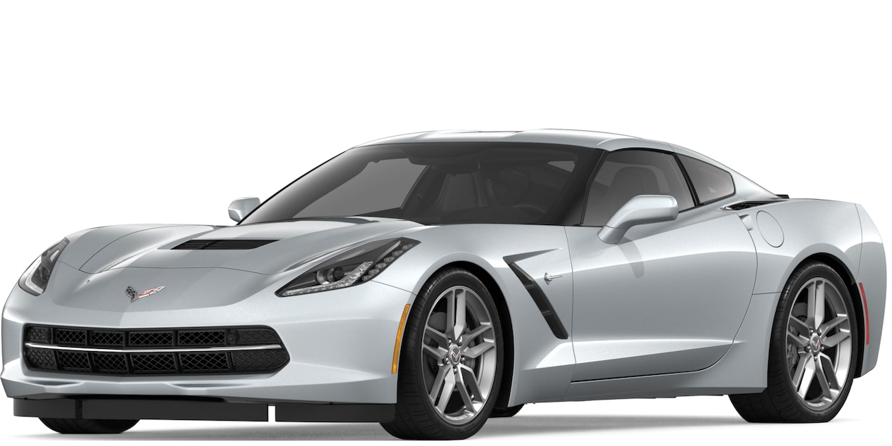 Corvette Stingray Coupe in Blade Silver Metallic