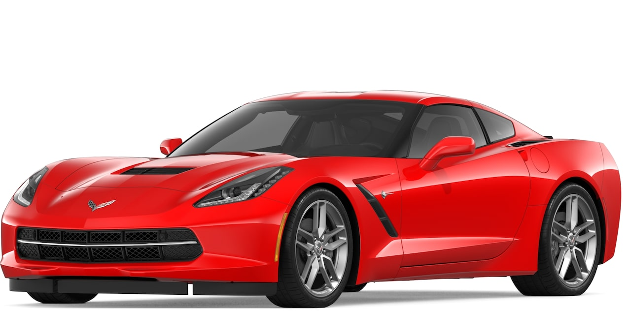 Covette Stingray Coupe in Torch Red