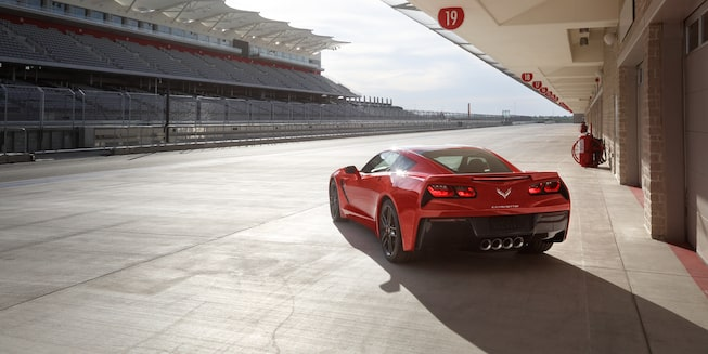 2019 Corvette Stingray Exterior Photo: Spice Red