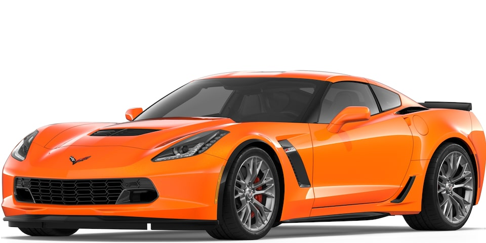 Corvette Z06 Coupe in Sebring Orange Tintcoat