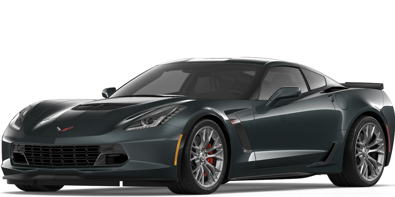 Corvette Z06 Coupe in Watkins Glen Gray Metallic
