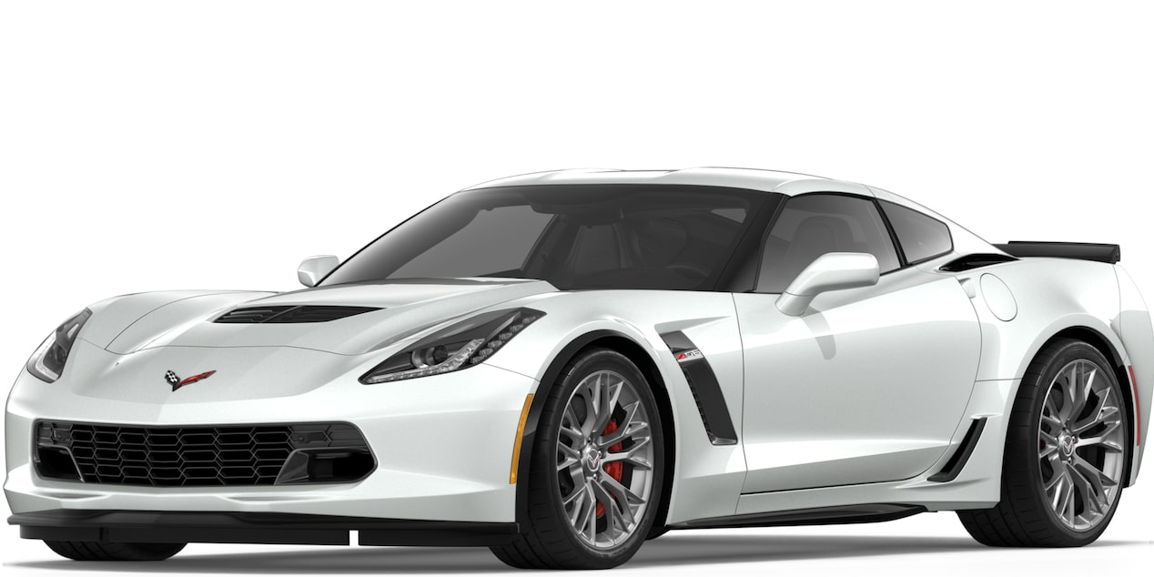Corvette Z06 Coupe in Arctic White