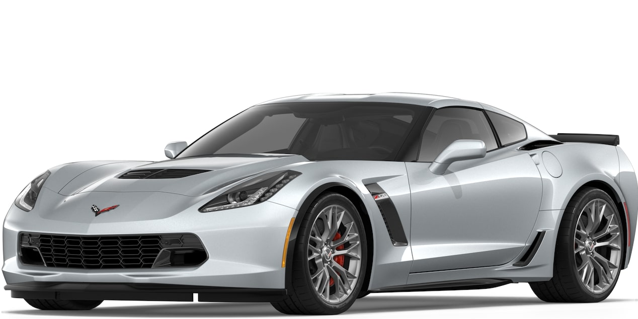 Corvette Z06 Coupe in Blade Silver Metallic