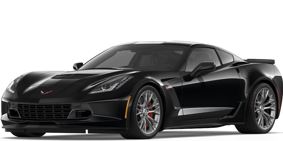 Corvette Z06 Coupe in Black