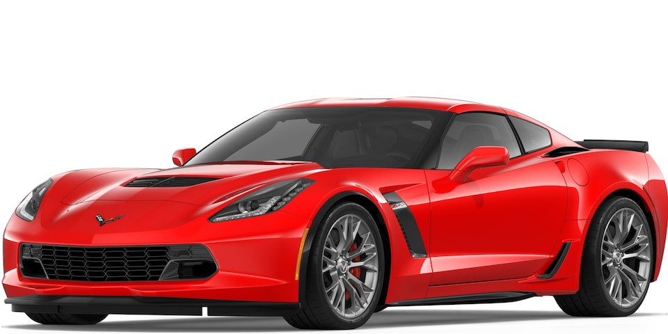 Covette Z06 Coupe in Torch Red