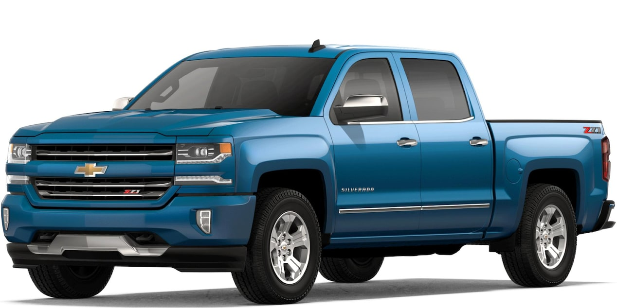 2018 Silverado LD in Deep Ocean Blue Metallic
