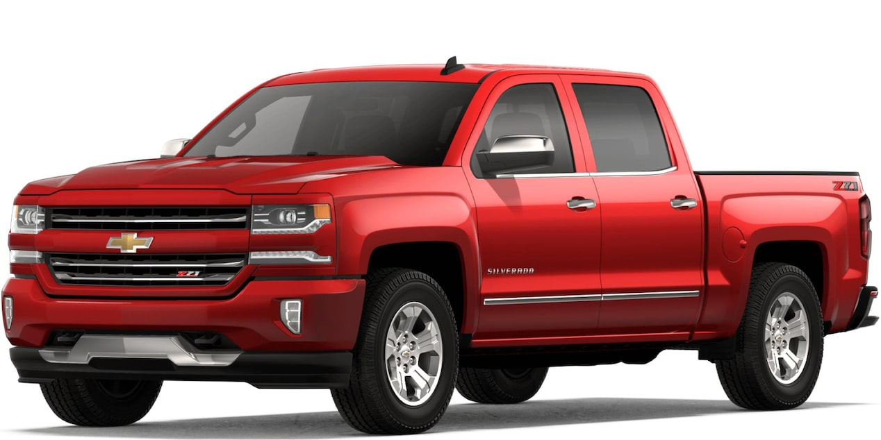 2018 Silverado LD in Red Hot