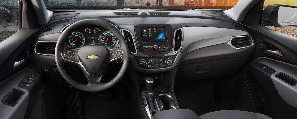 2018 Equinox Welcome Home: Interior Dashboard