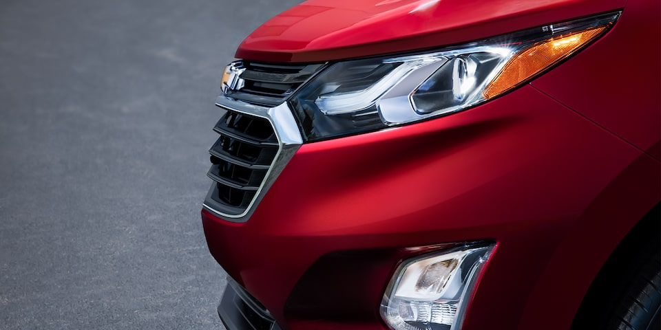 2018 Equinox Front  and back end safety:  Intellibeam Headlamps