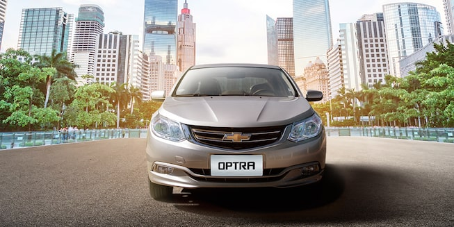 2018 Optra Exterior Photo: Front Beauty Shot