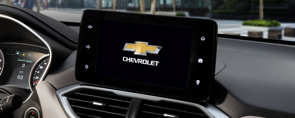Captiva SUV Crossover Chevrolet Infotainment System With 7-inch Diagonal Touch-Screen