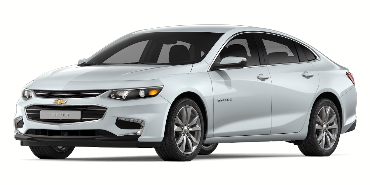 2018 Malibu in Summit White