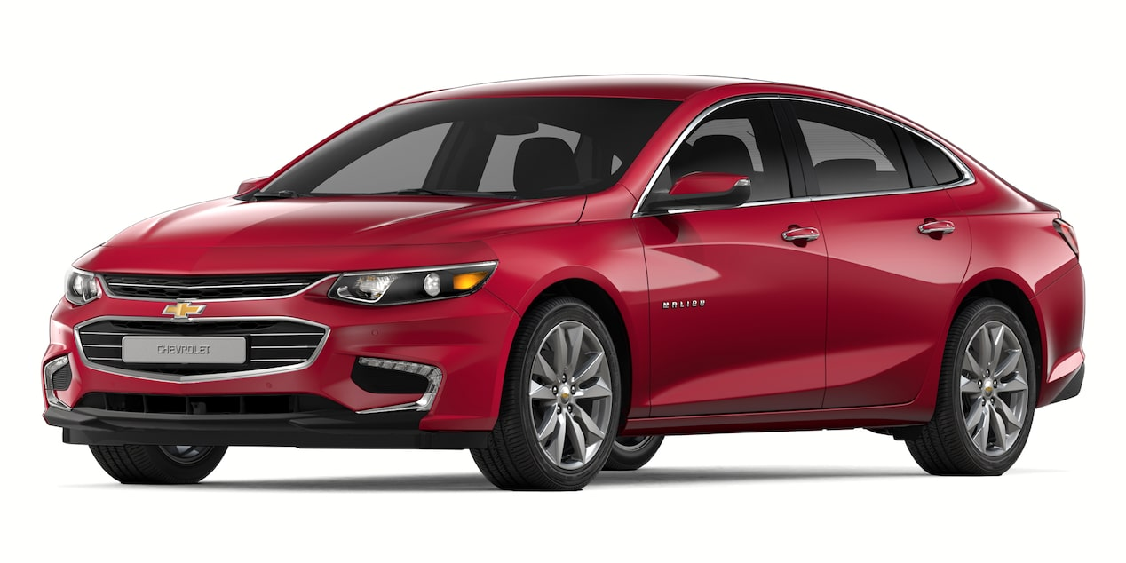 2018 Malibu in Red E or Not Metallic