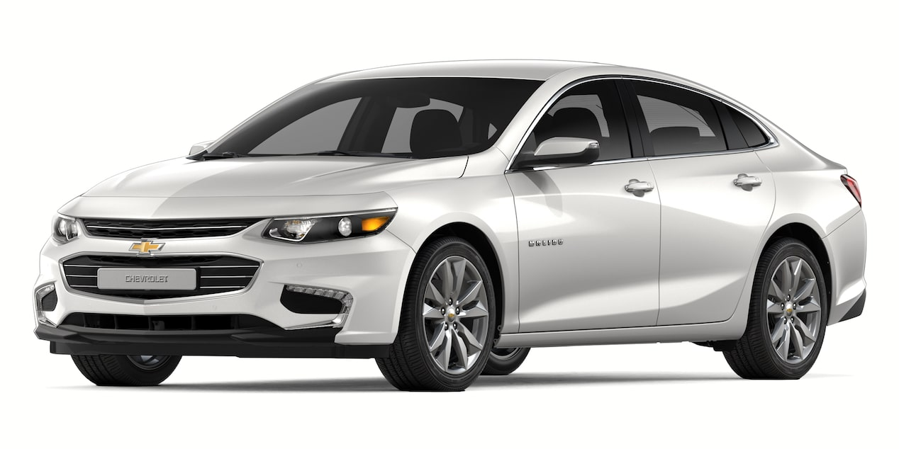 2018 Malibu in Abalone White Tricoat Metallic