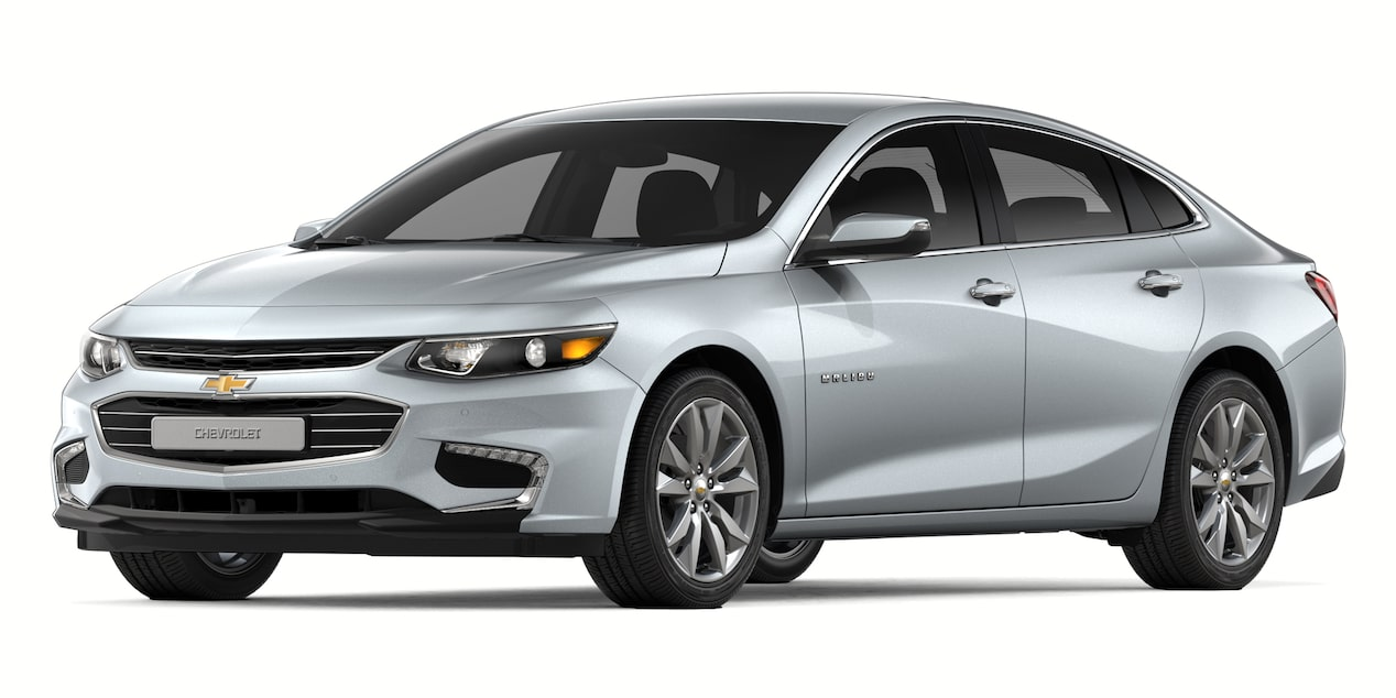 2018 Malibu in Switchable Silver Metallic