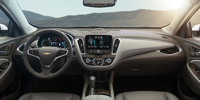 2018 Chevrolet Malibu Mid Size Car Interior Photo: