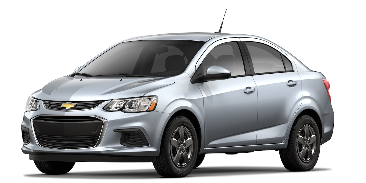 2019 Aveo in Switchblade Silver Metallic