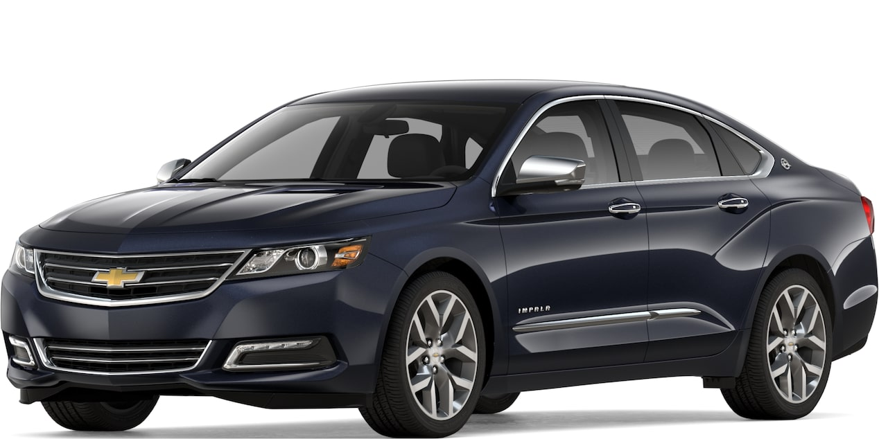 2019 Impala in Blue Velvet Metallic