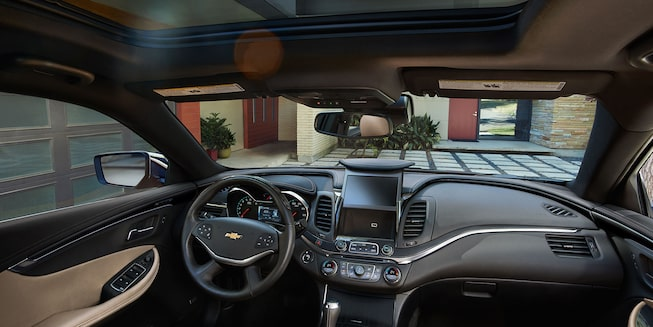 2019 Impala Full-Size Car Interior Photo: interior