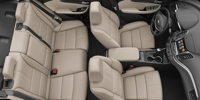 2019 Impala Full-Size Car Interior Photo: seating